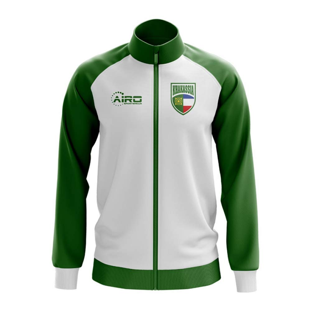 Airo Sportswear Khakassia Concept Football Track Jacket (Weiß)