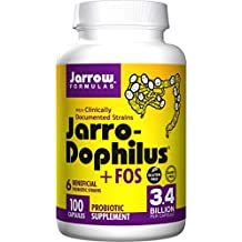 Jarro-Dophilus + FOS, 100 CAPS by Jarrow Formulas (Pack of 3)