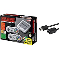 Super Nintendo SNES Classic Edition Entertainment System with 6-ft. Extension Cable