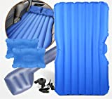 STAZSX Car bed car mattress universal car inflatable bed, blue oxford cloth-135x78CM