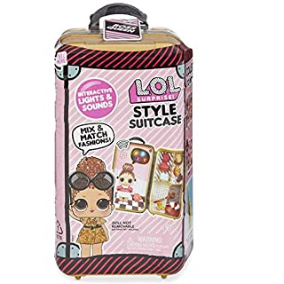 L.O.L. Surprise! Style Suitcase Electronic Playset - Boss Queen, Multicolor