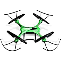 Kids RC Quadcopter 2.4GHz 4CH Waterproof 6 Axis Gyro RC Drone Hexacopter Headless Mode Mini Aircraft Toy Green