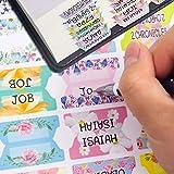 Decorative Laminated Bible Tabs 100PCS Cute Bible