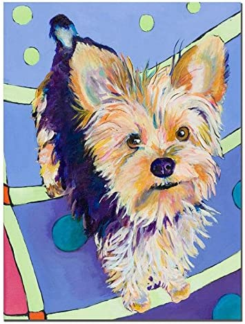 Claire by Pat Saunders-White, 26×32-Inch Canvas Wall Art
