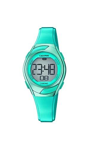Calypso Reloj Digital para Mujer de Cuarzo con Correa en Plástico K5738/5: Calypso: Amazon.es: Relojes