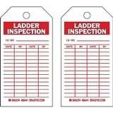 Brady 86441, Ladder Tag, (10 Packs of 10 pcs)