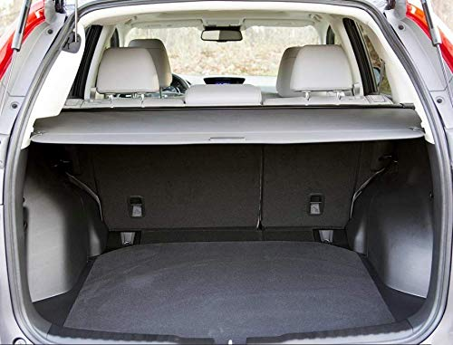 caartonn Cargo cover Compatible for 2012 2013 2014 2015 2016 Honda Crv Trunk Retractable Cargo Luggage Security Shade Cover Shield Black