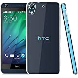 Case Creation (TM) Ultra Thin Perfect Fitting Premium Imported High quality 0.3mm Crystal Clear Totu Silicone Transparent Full Flexible Soft Corner protection Cover Guard with TPU Slim Back Case Back Cover For HTC Desire 728 dual sim