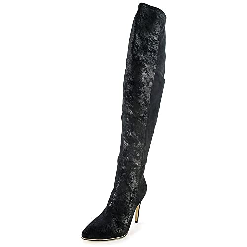 4e79d50a845 GUESS ZONIAN OVER THE KNEE BOOTS BLACK SUEDE 8.5M  Amazon.ca  Shoes    Handbags