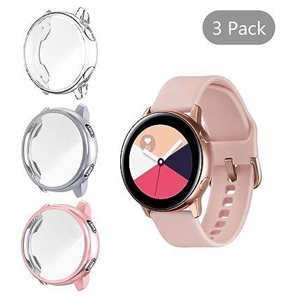 Amazon.com: Funda para Samsung Galaxy Watch Active: Seltureone