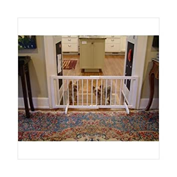 Cardinal Gates Step Over Free Standing Pet Gate White 28 51 75 X