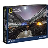 Clementoni - Puzzle de 1000 piezas, National Geographic, diseño Everest (393107)