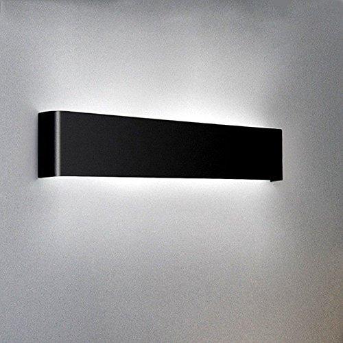LaxBa Vintage industrial apliques de pared E27 moderno moderno moderno luces de pared Salón Dormitorio Led Luces de pared delgada de aluminio pared cabecera Lightss Decoracion INTERIOR Apliques de pared 31cm8W 4ff337