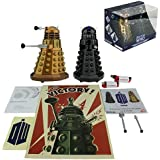 Doctor Who Assault Dalek + Dalek Sec Bluetooth Speaker Combo Pack with MIC, LED's and Sound Effects