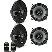 Kicker Speaker Bundle - Two pairs of Kicker 5 Inch KS-Series Speakers 44KSC504