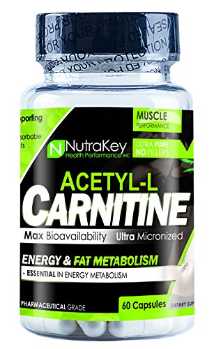 Nutrakey Acetyl L Carnitine 60 Capsules
