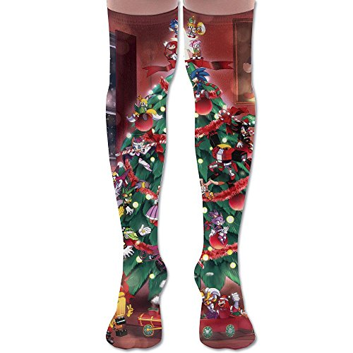 Training Socks3D Printing Graffiti Knee High Socks Adult Unisex Merrychristmas Stockings Socks Long Colorful For Man And Woman Leg Warmers Various Sizes (Minion Do It Yourself Costume)