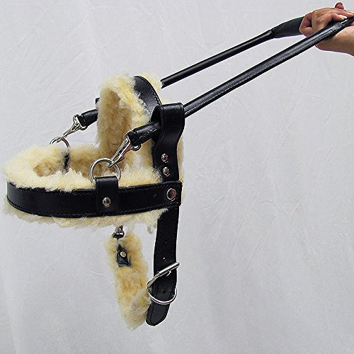 Hilason GENUINE LEATHER ASSISTANCE GUIDE DOG HARNESS X-SM...