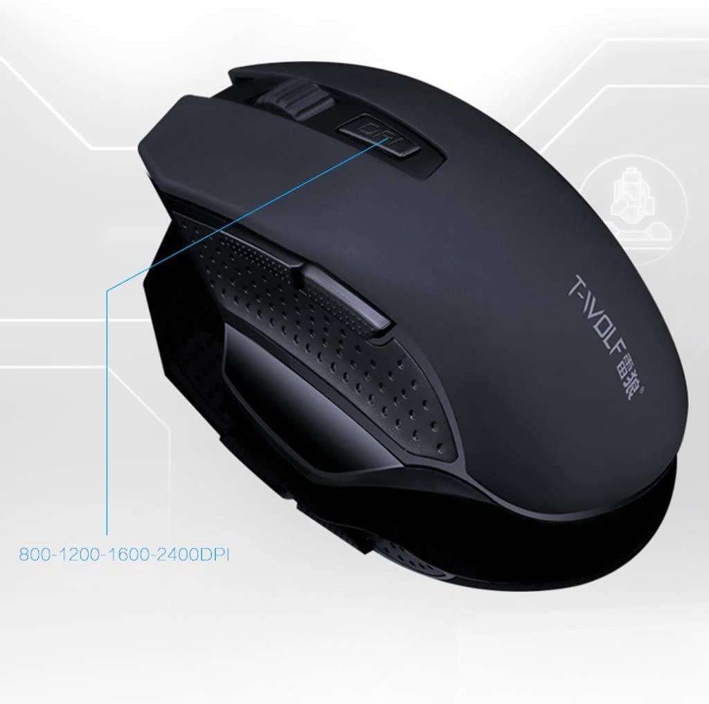 Suitable for PC//Tablet//Laptop Mute and Smooth Computer Mouse L112mm /× W58mm /× H24mm ka USB Port Feels Comfortable Color : Silver Wireless Mouse