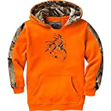 Legendary Whitetails Outfitter Hoodie, Inferno, Large / 14/16