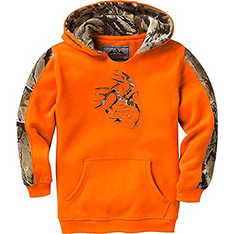 Legendary Whitetails Youth Outfitter Hoodie Inferno Small - Girls In Camo