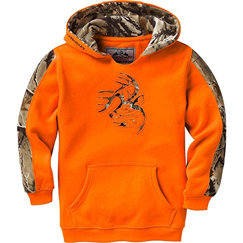 Legendary Whitetails Youth Outfitter Hoodie Inferno Small
