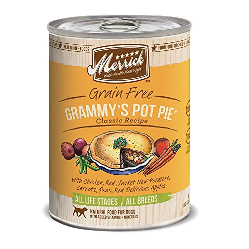Merrick Grammys Pot Pie Can Dog Food Case 13oz