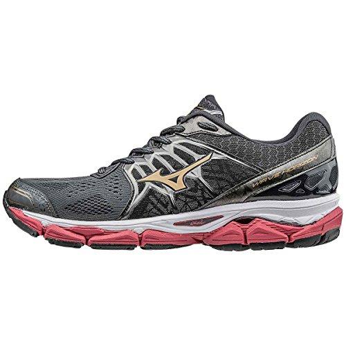 Horizon Mizuno Men's Shoe Running Wave Shadow Dark Gold w1Erx1Zq