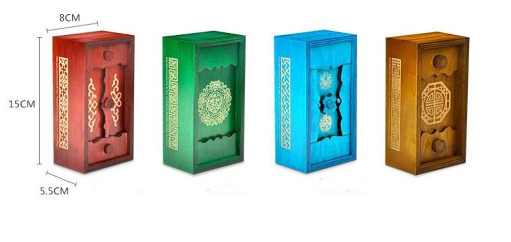 Magic Box Wooden Puzzle Box Special Unique Gift Box by ONE ADD ONE (Image #6)