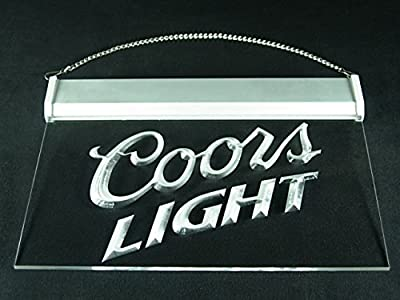 Coors Light Bar Pub Led Light Sign