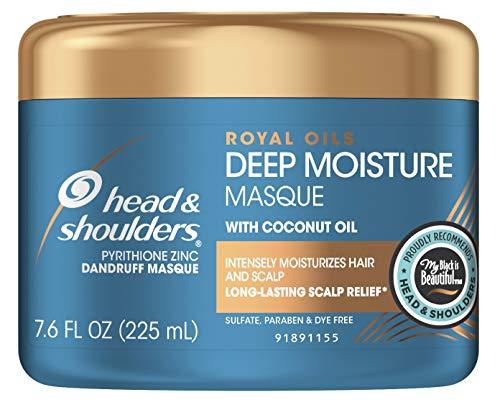 (Head & Shoulders Deep Moisture Masque Royal Oils 7.6 Ounce Jar (225ml) (2 Pack))
