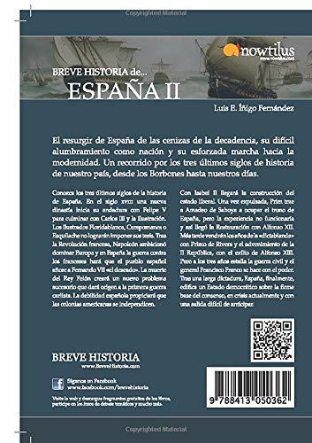 Breve historia de España II: El camino hacia la modernidad: Amazon ...