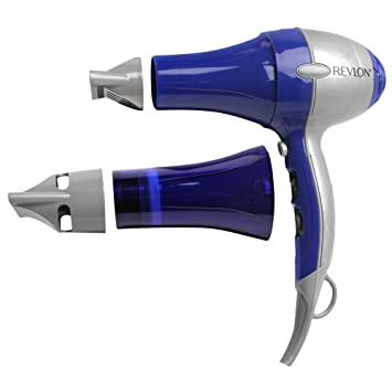 Amazon Com Revlon Professional Dual Dry Hair Dryer System Blue