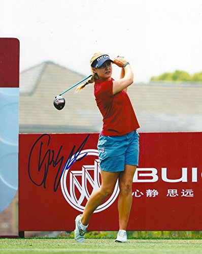 Charley Hull Signed Photo - 8x10 COA G - Autographed Golf Photos