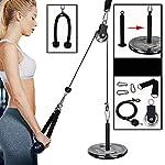 Fikujap-Fitness-Pulley-Cable-System-Regolabile-avambraccio-Polso-Trainer-Braccio-Ritorto-Tirare-Giu-di-Corda-con-Manici-e-carico-Pin-Bodybuilding-Palestra-di-casa-Esercitazione-di-Allenamento
