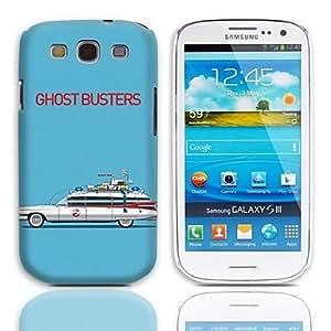 GX Ghost Busters patrón duro caso con paquete de 3 protectores de pantalla para Samsung Galaxy S3 I9300