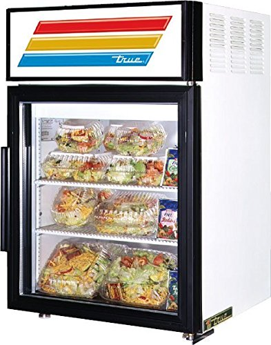 True Mfg GDM-5-LD, Swing Door Counter-Top Refrigerator