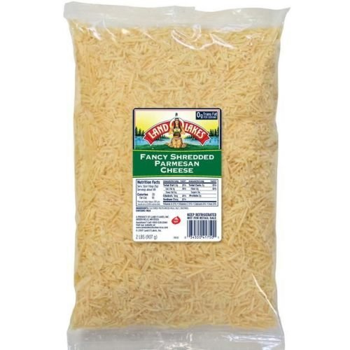 Land O Lakes Shredded Parmesan Cheese, 2 Pound -- 6 per case.