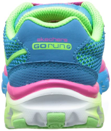 Skechers GO Run Ride - Zapatillas para niñas Blue/Multi