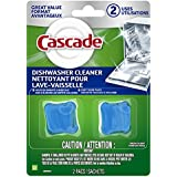 Cascade Auto Dishwasher Cleaner, 2 Count