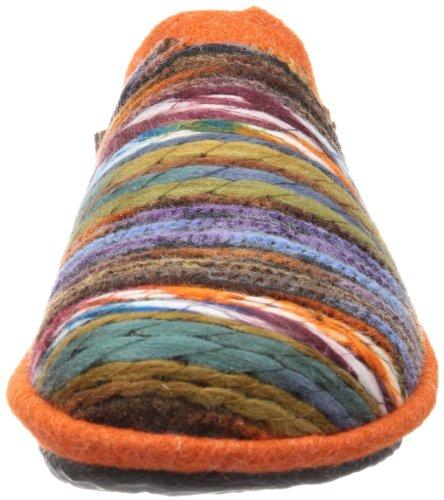 837 Mehrfarbig Chaussons bunt Orange femme 66 Mikado ROMIKA Multicolore x7qBP8wX