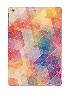 Durable Protector Case Cover With Abstract Minimalistic Geometry Simonpage Hot Design For Ipad Air (ideal Gift For Lovers)