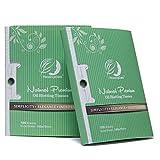 Natural Green Tea Oil Absorbing Tissues - 200
