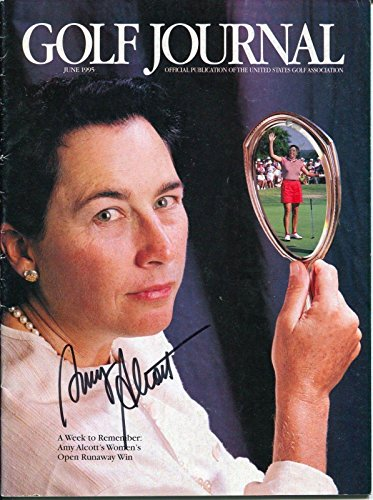 Amy Alcott Lpga Golf Hof Us Open Champ Signed Autograph Golf Journal Magazine - Autographed Golf Magazines