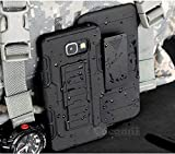 samsung galaxy a7 2016 Cocomii Robot Armor Galaxy A7 2016 Case New [Heavy Duty] Premium Belt Clip Holster Kickstand Shockproof Bumper [Military Defender] Full Body Rugged Cover for Samsung Galaxy A7 2016 (R.Black)