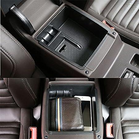 Passat B8 2016 M/ünzen Passat Valiant 2016 Auto Armlehnen Organizer Tray Sekund/ärspeicher f/ür Brieftasche Handy SHAOHAO Organizer der Mittelkonsole f/ür Arteon2 2018