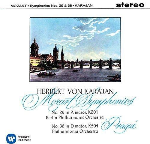 SACD : Herbert von Karajan - Mozart: Symphony No.29 & 38 (Japan - Import)