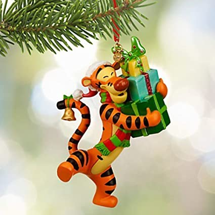 Tigger Christmas Ornaments.Disney Tigger Sketchbook Ornament Thats A Wrap 2015