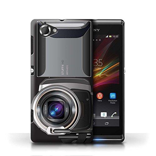 Etui / Coque pour Sony Xperia L/C2105 / Caméscope conception / Collection de Appareil Photo