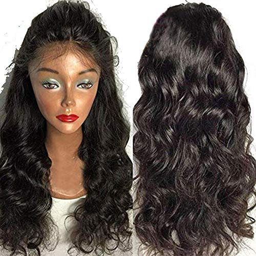 Human Hair Wigs Freestyle PrePlucked natural hairline Brazilian Remy Hair,Natural Color,24inches,180%